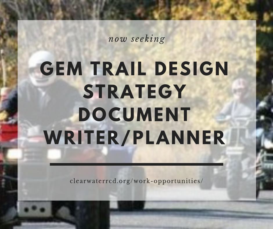 **EXPIRED** Request for Quotation & Qualifications: Service Provider – Draft GEM Trail Design Strategy Document Writer/Planner