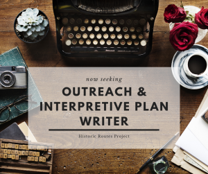 Request for Quotation & Qualifications: Service Provider – Outreach & Interpretive Plan Writer